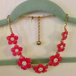 Kate Spade - Pink Flower Necklace